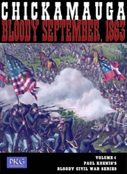 Chickamauga: Bloody September, 1863 (new from Paul Koenig Games)