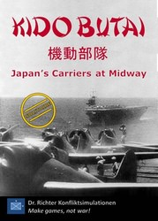 Kido Butai: Japan's Carriers at Midway (new from Dr. Richter Konfliktsimulationen)