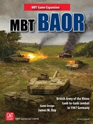 BAOR: MBT Expansion (new from GMT Games)