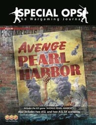 Special Ops, Issue 8: Avenge Pearl Harbor (new from Multi-Man Publishing)