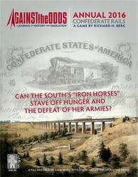 2016 Annual: Confederate Rails (new from Against the Odds)