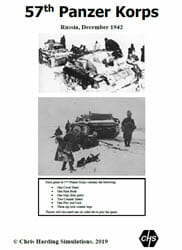57th Panzer Korps (new from Chris Harding Simulations)