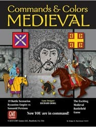 Commands & Colors: Medieval (new from GMT Games)