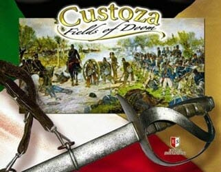 Custoza: Fields of Doom (new from Europa Simulazioni)