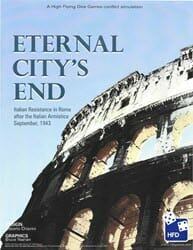 Eternal City's End (new from High Flying Dice Games)