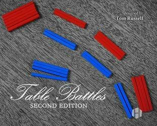 Table Battles, Second Edition (new from Hollandspiele)