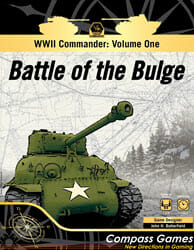 WWII Commander: Battle Of The Bulge (new from Compass Games)