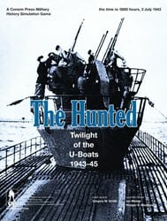 The Hunted: Twilight of the U-Boats, 1943-45 (new from GMT Games)