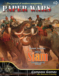 Paper Wars, Issue 94: Fall of Siam (new from Compass Games)