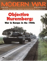 Modern War, Issue 47: Objective Nuremberg (new from Decision Games)