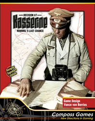 Decision At Kasserine, Designer Signature Edition (new from Compass Games)