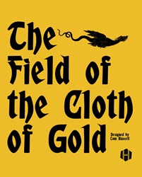 The Field of the Cloth of Gold (new from Hollandspiele)