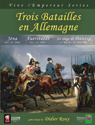 Trois Batailles en Allemagne (new from Legion Wargames)