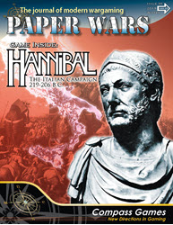 Paper Wars, Issue 95: Hannibal (new from Compass Games)