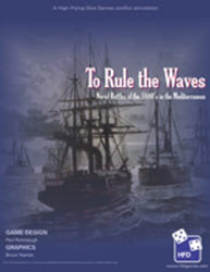 To Rule the Waves (new from High Flying Dice Games)