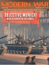 Modern War, Issue 49: Objective Munich (new from Decision Games)