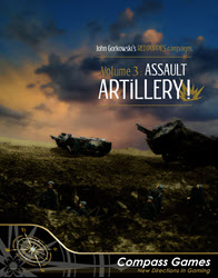 Red Poppies Campaigns Vol. 3: Assault Artillery! (new from Compass Games)