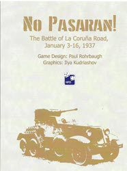 No Pasaran! (new from High Flying Dice Games)