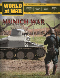 World at War, Issue 74: Munich War 1938 (new from Decision Games)