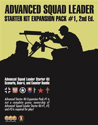 ASL Starter Kit Expansion Pack #1, 2nd Edition (new from Multi-Man Publishing)