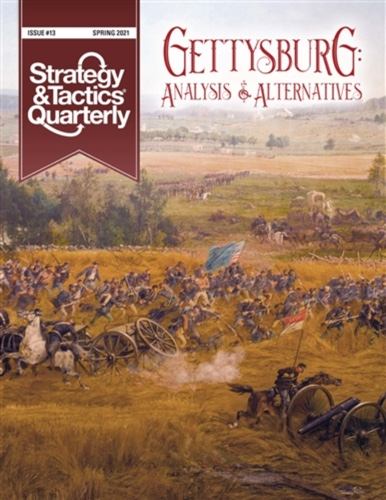 S&T Quarterly #13 – Gettysburg w/ Map Poster (new from Decision Games)