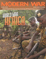 Modern War, Issue 52: World War Africa: The Congo, 1998-2001 (new from Decision Games)