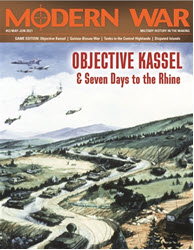 Modern War, Issue 53: Objective Kassel (new from Decision Games)