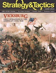 Strategy & Tactics, Issue 328: Vicksburg (new from Decision Games)