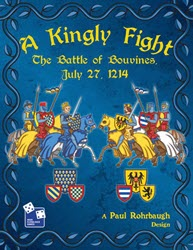 A Kingly Fight: The Battle of Bouvines (new from High Flying Dice Games)