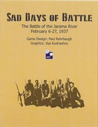 Sad Days of Battle (new from High Flying Dice Games)