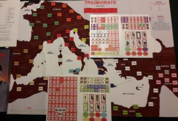 1st Triumvirant: Caesar, Crassus & Pompey (new from Day 40 Games)