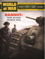 World at War, Issue #80: Hannut, France 1940 (new from Decision Games)