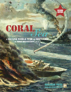 SWWAS Coral Sea Playbook Edition (new from Avalanche Press)